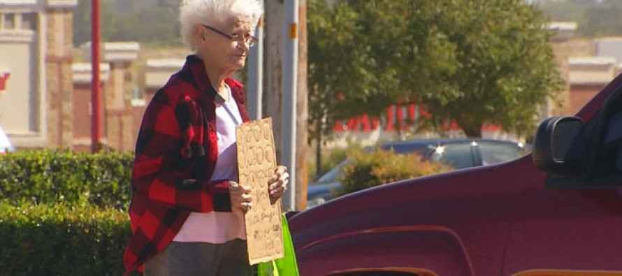 [VIDEO] Panhandler Grandma Gets in Heated Confrontation when CAUGHT GETTING INTO A BRAND NEW CAR!