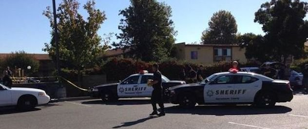 police shooting in Sacramento by illegal