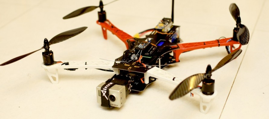 VIDEO: Quadcopter Drone Invades This Hawk's Space; The Resulting Fight Lasts Mere Seconds