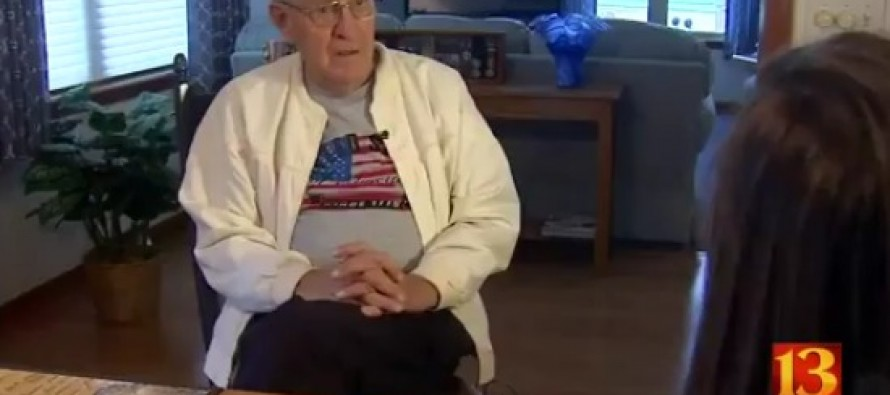 VIDEO: Disabled Korean War Vet Fights to Keep American Flag