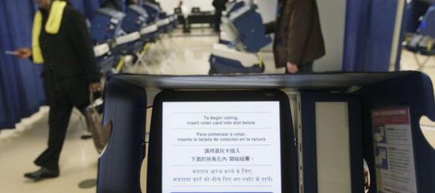 A Voting Machine in Chicago is Hardwired to Vote Democrat