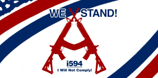 1-594 I will not comply