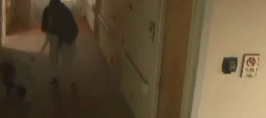 Terrifying Video Shows Patient Running Through a Hospital Beating Staff With Metal Pole
