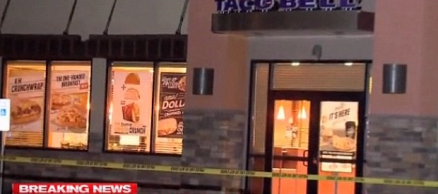 Moments After Being Engulfed in Flames, Man Walks Into Taco Bell and Calmly Asks For Water