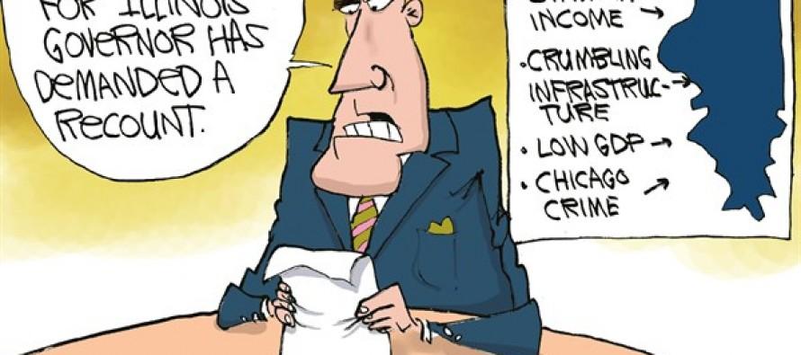 LOCAL-IL New IL Governor (Cartoon)