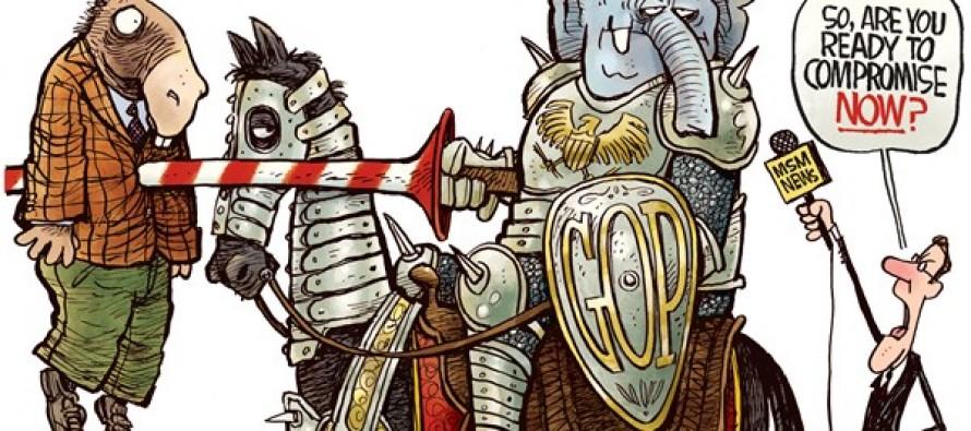 GOP Compromise (Cartoon)