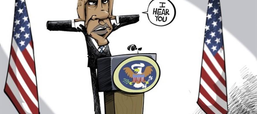 The listener (Cartoon)