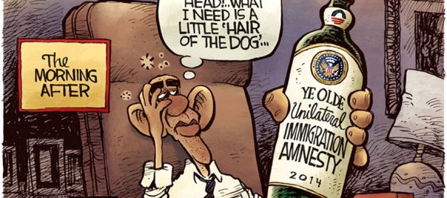 Obama Hangover (Cartoon)