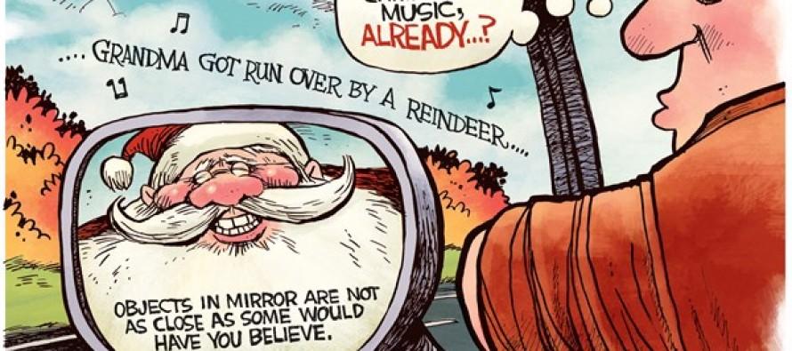 Christmas Too Early (Cartoon)