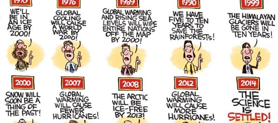 Scientific Pronouncements (Cartoon)