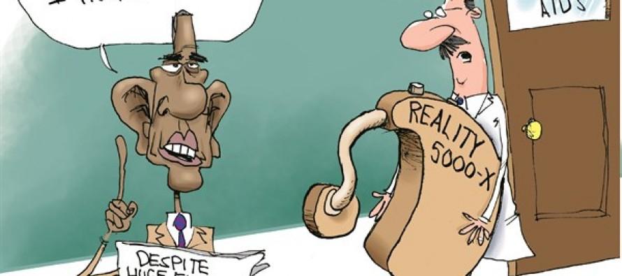 Obama's Hearing (Cartoon)