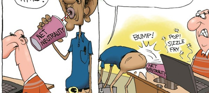 Net Neutrality Hurts (Cartoon)