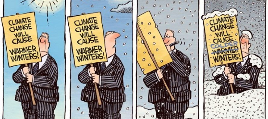 Climate Changing (Cartoon)