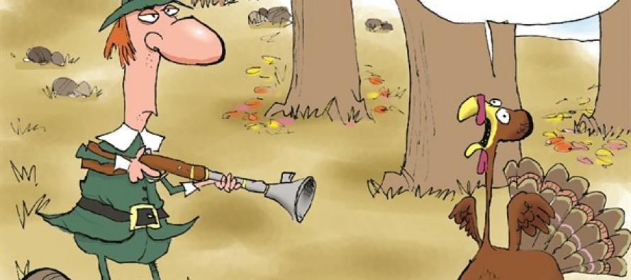 Hands Up Turkey (Cartoon)