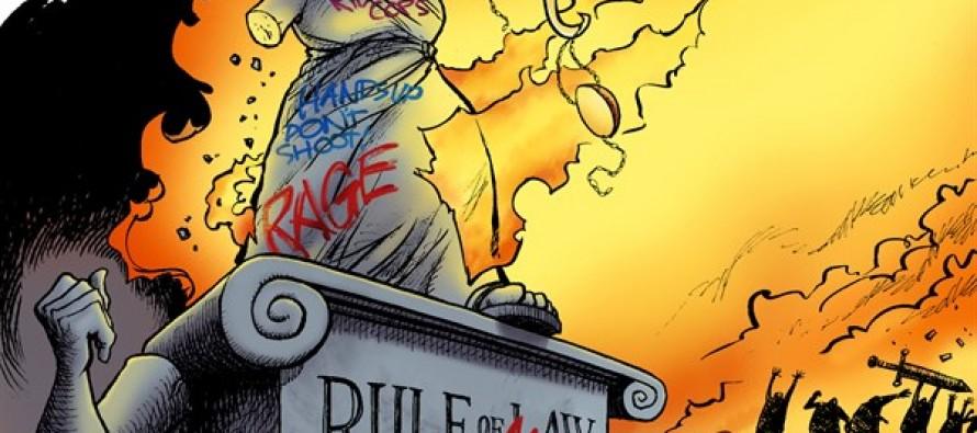 Ferguson Riot (Cartoon)
