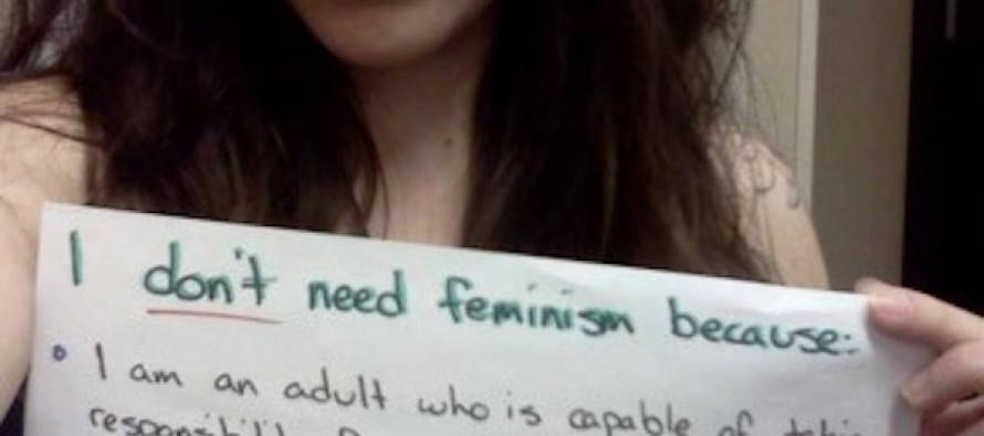 On Behalf of the Patriarchy, Liberal Feminists Can Kiss Off