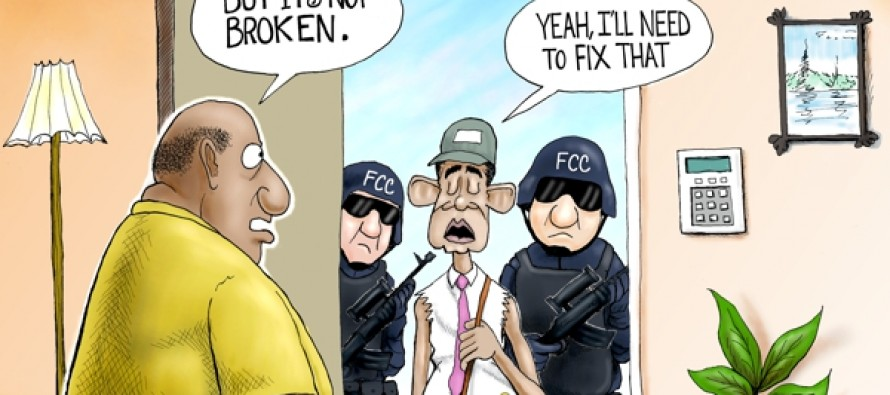 Barry the Cable Guy (Cartoon)