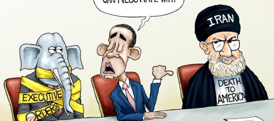 America Held Hostage (Cartoon)