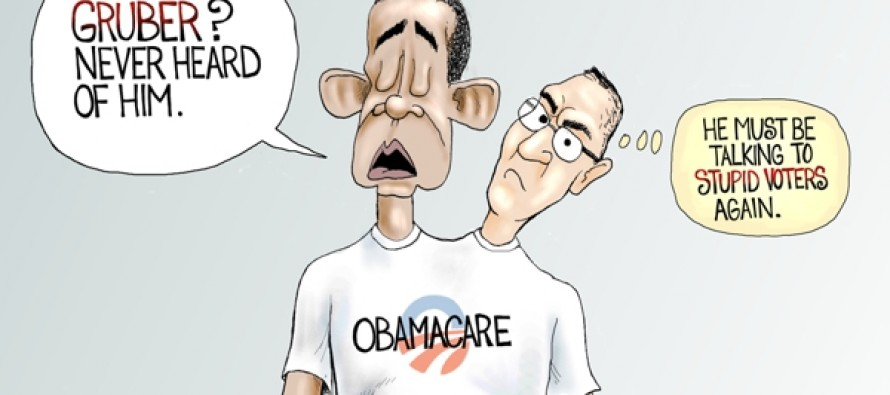 Obamacare Brainiacs (Cartoon)
