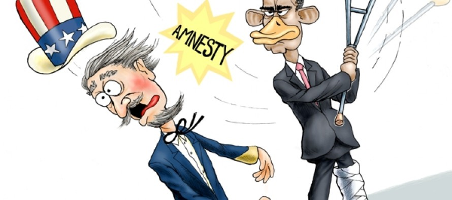 Lame Duck Move (Cartoon)