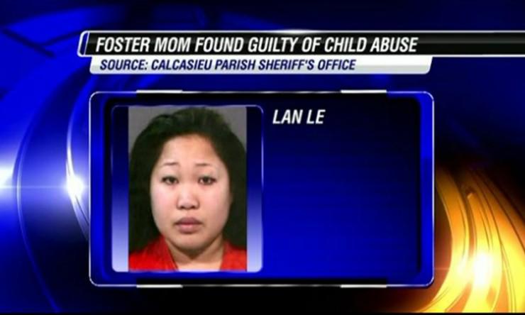 Lan Lee scalded a toddler in hot water