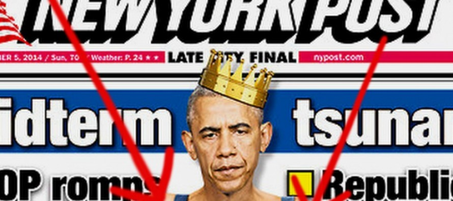 This Mocking Front Page Of A Major Newspaper Will Make Obama FURIOUS