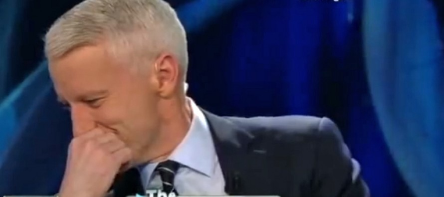 Anderson Cooper Gets Pranked By His Own Staff On Live Television