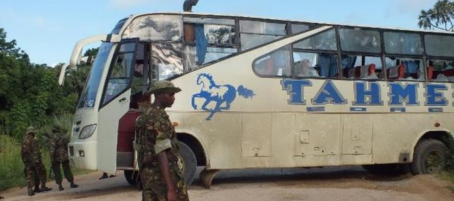 Murdered because they weren't Muslim: Jihadists kill 28 people on Kenyan bus after asking passengers to prove they're not 'infidels'