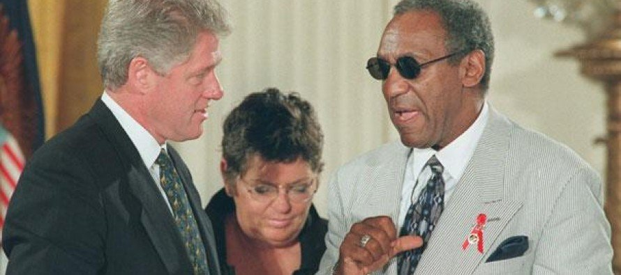 Why does Bill Cosby catch Hell, and Bill Clinton doesn't