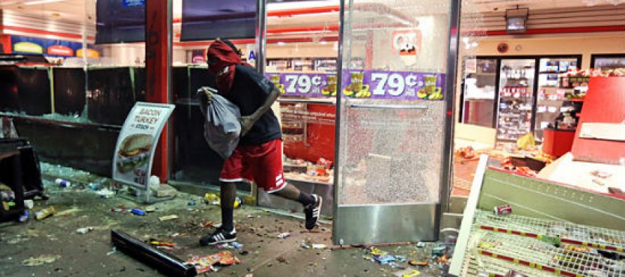 [VIDEO] Ferguson 'Activist' Caught on Tape Telling Crowd to Target White Neighborhoods