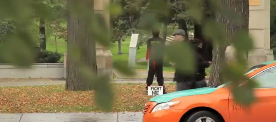 HILARIOUS VIDEO: What Happens When You Challenge a Random Street Ninja? These People Found Out