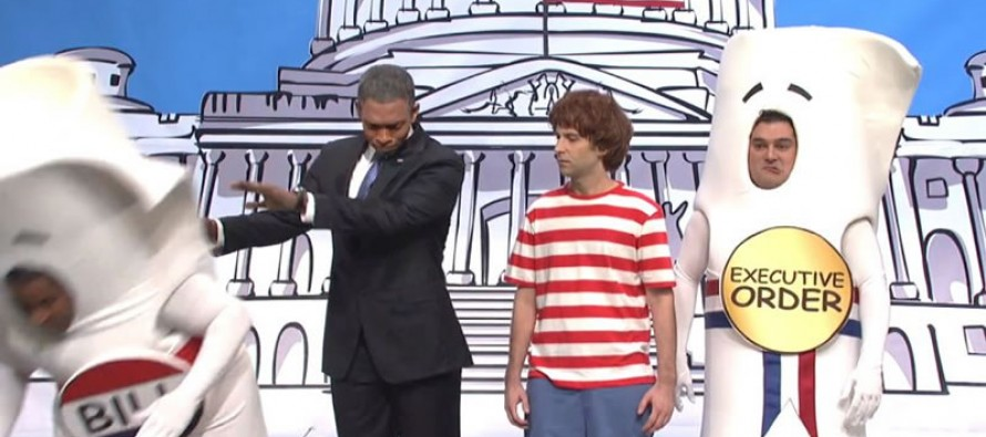Hilarious SNL Schoolhouse Rock skit takes aim at Obama's amnesty plan with how a bill -er executive order becomes law