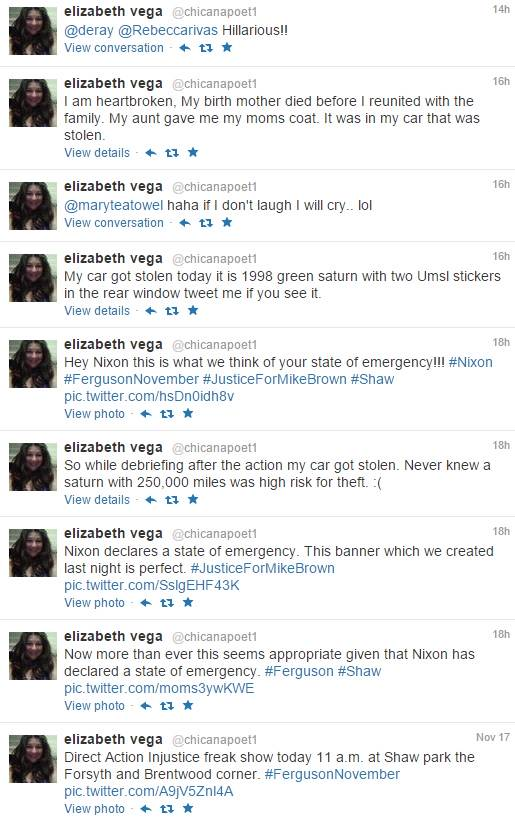 vega tweets