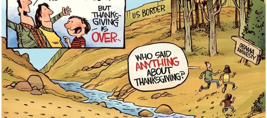 Obamagration (Cartoon)