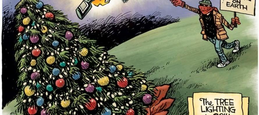 Tree Lighting 2014 (Cartoon)