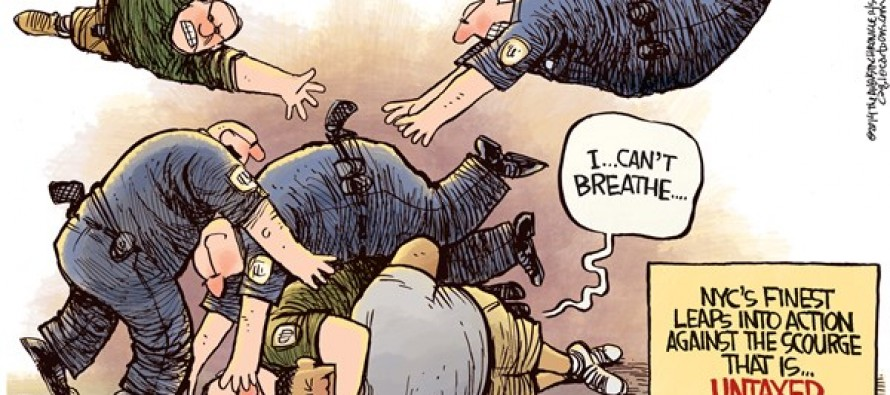 Choke Hold Death (Cartoon)
