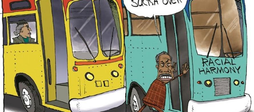Sharpton's Disharmony (Cartoon)