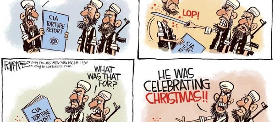 CIA Torture Report (Cartoon)