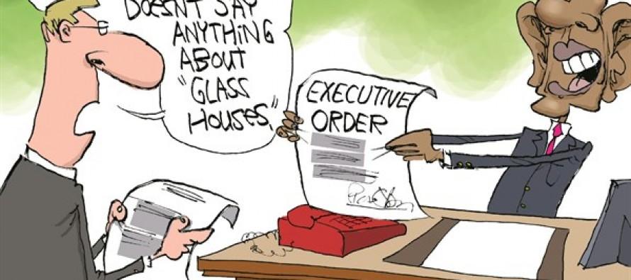 Obama Re-Writes Bible (Cartoon)