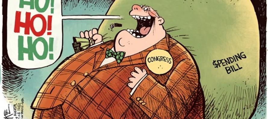 Jolly Old Congress (Cartoon)