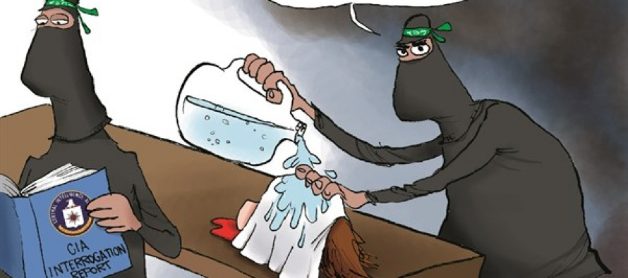 ISIS' Enhanced Interrogation (Cartoon)