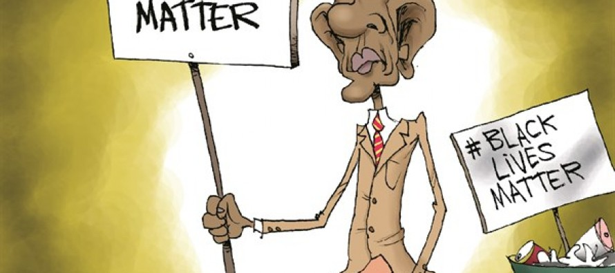 Obama Values Terrorists (Cartoon)