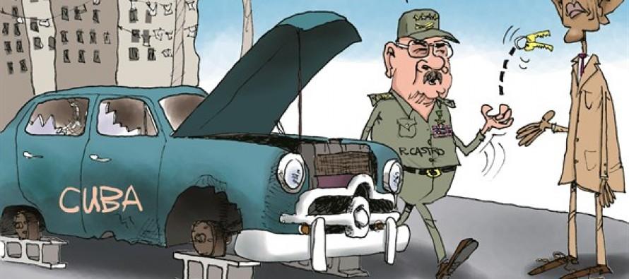 Obama's Cuba (Cartoon)