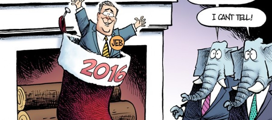 Jeb Bush Stocking (Cartoon)