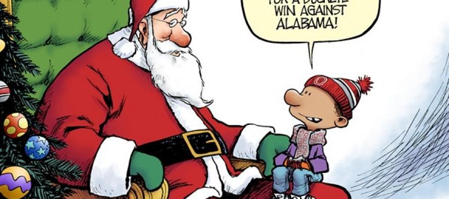 Buckeye Wishes  (Cartoon)