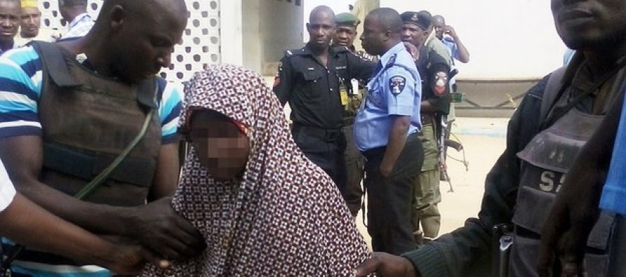 Young Nigerian Girl Claims Her Parents Offered Her Up As A Suicide Bomber