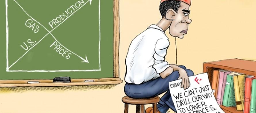 Schooled on Oil (Cartoon)