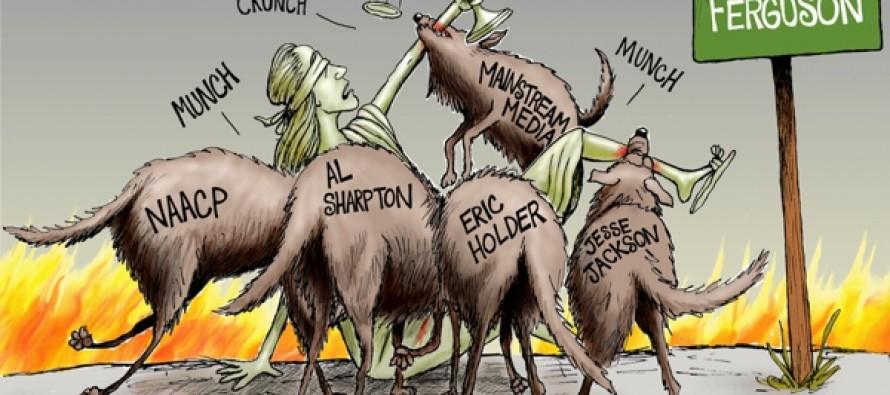 No Justice and No Peace (Cartoon)