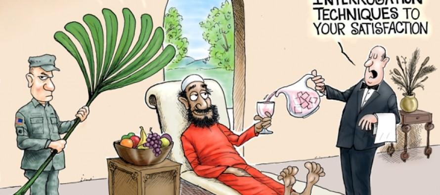 A New CIA (Cartoon)