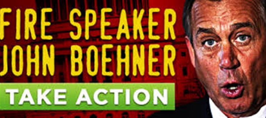 Operation Remove Speaker Boehner
